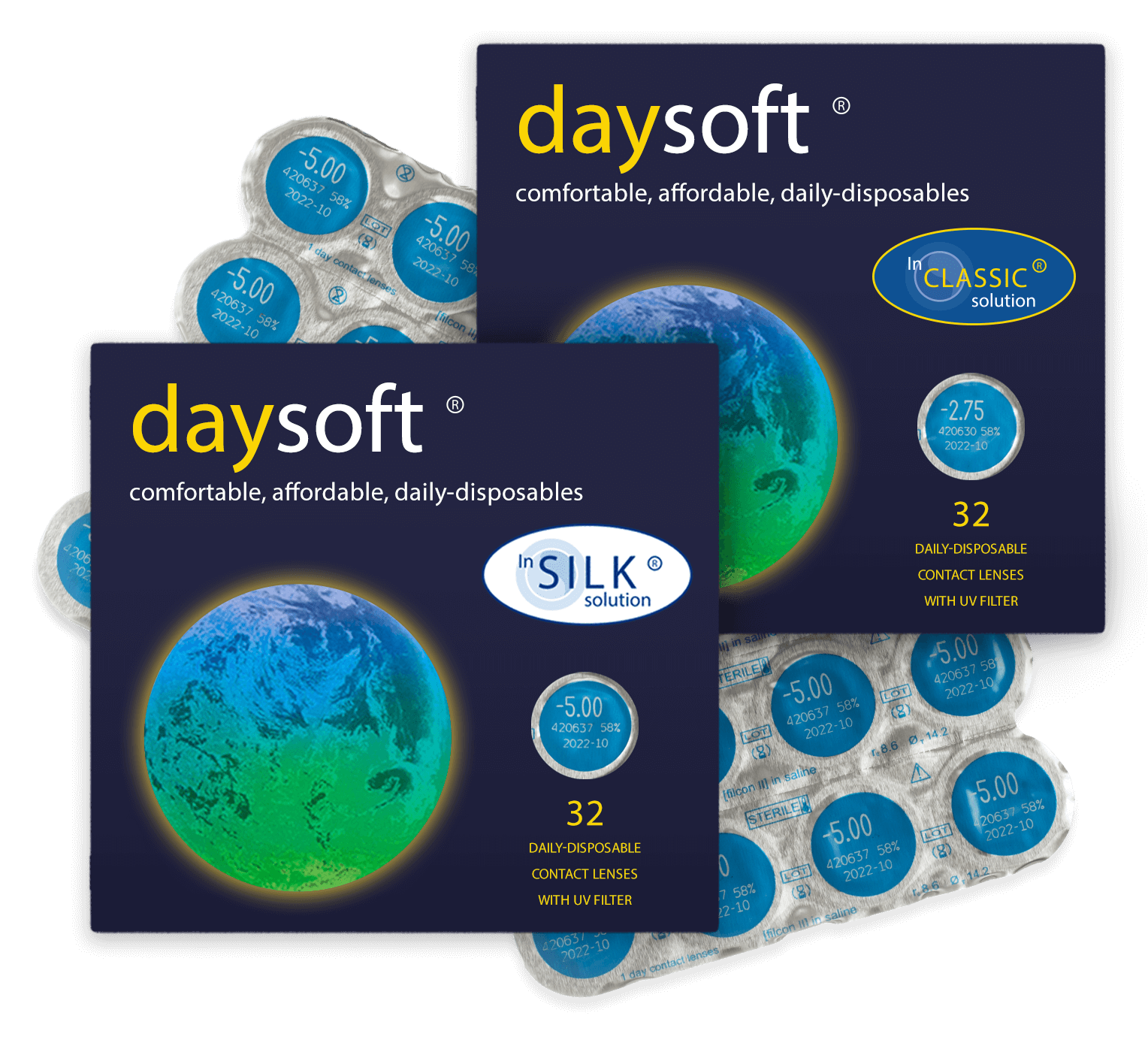 Welcome to daysoft | contact lenses online